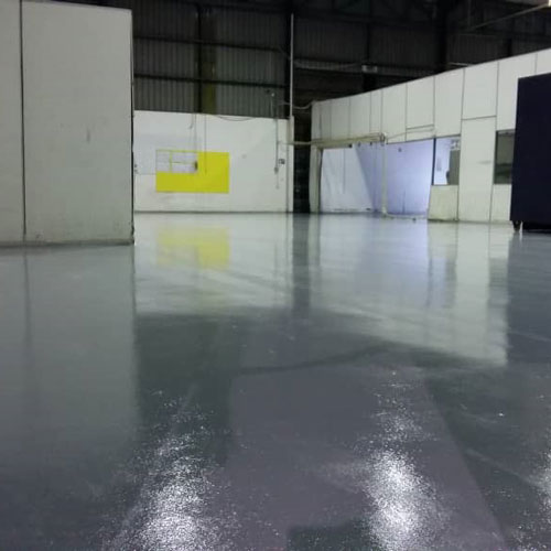 Epoxy Flooring for warehouse and factory