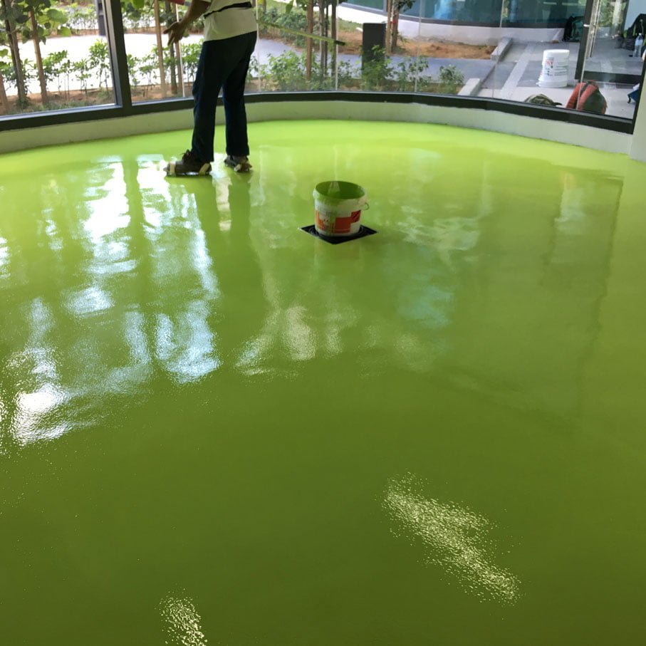 Water Base Epoxy Flooring