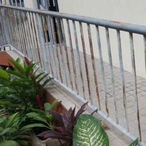 Railing Metal coat
